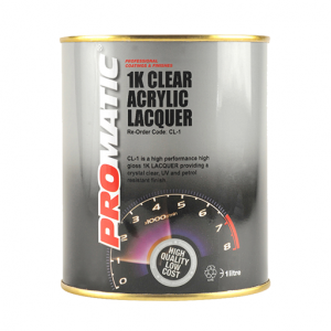PROMATIC-1K CLEAR ACRYLIC LACQUER (1LT)
