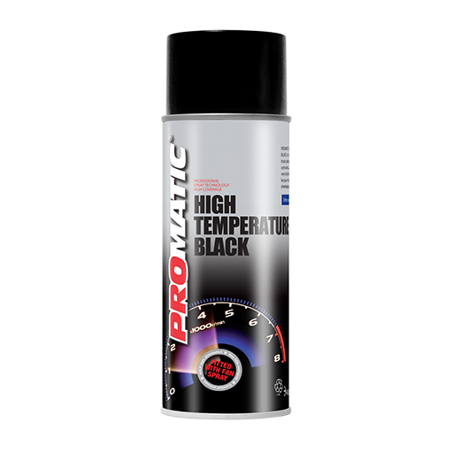 PROMATIC BLACK HIGH TEMPERATURE AEROSOL (400ML)