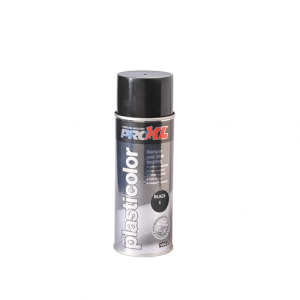 PROXL-PLASTICOLOUR AEROSOL-BLACK 1 (400ML)