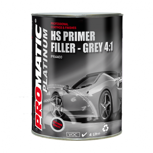 PROMATIC PLATINUM-HS 4:1 PRIMER/FILLER GREY (4LT)