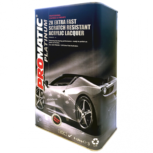 PROMATIC PLATINUM-2K EXTRA FAST CLEARCOAT (4LT)